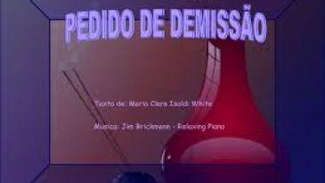 PEDIDO DE DEMISSÃO sem assistência sindical